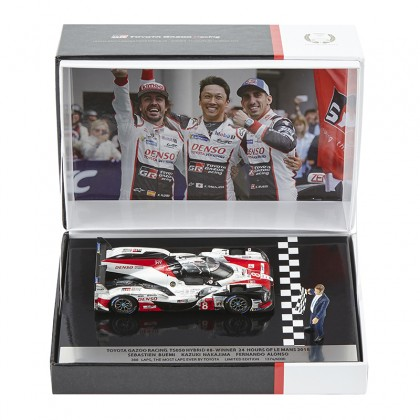 TOYOTA HYBRID TS050 No.8 Le Mans Winning Model Car 1:43 Limited Edition