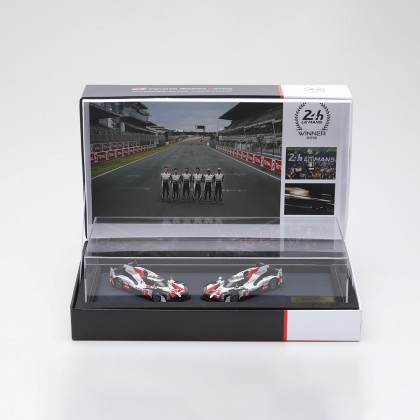Le Mans podium model set 1:43 scale