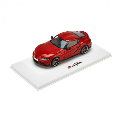 Supra model car 1-43 scale red