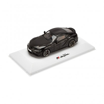 Supra model car 1-43 scale black