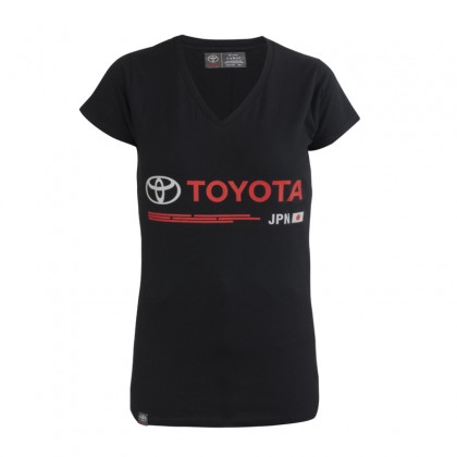 "T-shirt women Emotion Line ""TOYOTA JPN"""