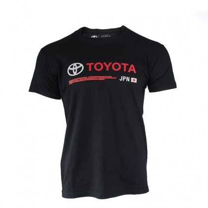"T-shirt Man Emotion Line  ""TOYOTA JPN"""